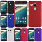 For Google LG Nexus 5X Hard Snap on Two Piece Cover Case