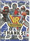 Saban's VR Troopers Thank You Note Cards - Thanks! 8 Count by CA Reed