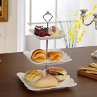 Hot 2 or 3 Tier Cake Plate Stand Cupcake Fittings Silver Golden Wedding Party