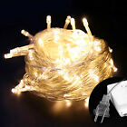 Mains Powered 20m 30m 50m 100m String Fairy Lights Xmas Garden Wedding Party AU