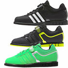 New Adidas Powerlift 2.0 Mens Weight Lifting Shoes Black Green Dark Grey UK Size