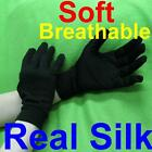 New Luxury Pure Silk Gloves Ski Thermal Warm Cool Winter Soft Hand Care Unisex