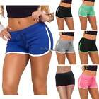 Summer Women Sports Casual Drawstring Stretch Skinny Mini Shorts Hot Pants CaF8