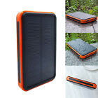 Waterproof 20000mAh/100000mAh Dual USB Solar Battery Charger External Power Bank