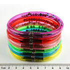 New 15pcs Transparent NOVELTY WRISTBAND PEN BANGLE BRACELET COMBO OPTION