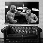 Mike Tyson Boxer Champ Boxing Fighter Poster Wall Mural on Adhesive Vinyl