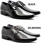 New Men's Italian Lace-Up Formal Dress Suit Shoes in Black & Brown UK SIZES 6-11