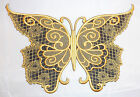 Large Embroidered Butterfly Motif / Patch / Badge / Applique Lots of Colours
