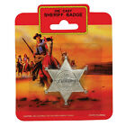 Cowboy Cowgirl Bandana Spurs Sheriff Badge Fancy Dress Western Outfit Accessory