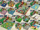 KIDS GIRLS BOYS BEDROOM FLOOR PLAY MAT FUN CHILDRENS RUGS SOFT CARPETS NURSERY