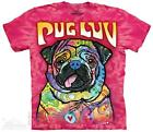 PUG LUV ADULT T-SHIRT THE MOUNTAIN DEAN RUSSO