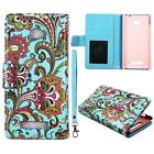 Case for HTC Windows Phone 8X Leather Wallet Pouch Flip Cover Credit ID Card