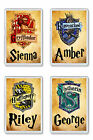 Personalised Harry Potter House Fridge Magnet - Add any name *Great Gift*