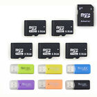 Wholesale 8GB Micro SD HC Card TF Flash Memory Class 10 Free Adapter+Reader