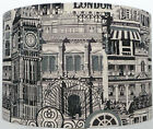 London Big ben Images Vintage Black and cream Lampshade, ceiling, Table, Pendant