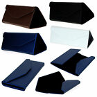 Collapsible Triangular Box Megnetic Closure Sunglasses Glasses Hardcase