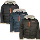 Geographical Norway Champion Teddy Lined Hood Men Padded Puffer Jacket WL172H/GN