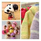 Kids Baby Knitting Wool Velvet Chenille Knit Craft Towel Scarf Soft Fashion
