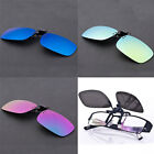 3 Colors Men Women New Polarized UV400 Lens Clip-on Flip-up Myopia SunGlasses