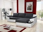 "Corner Sofa Bed ""Sydney"" Many Colours Cheapest in UK"