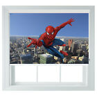 Spiderman childrens themed black out roller blind various sizes bed room