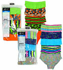 Boys Pack of 5 Neon Camo Smiley Underpants Slip Briefs Pants 7 to 13 Years