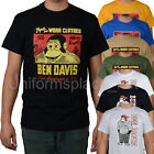 Ben Davis T shirt Mens Short Sleeve Logo Classic Tee T- Shirts Cotton Top Colors image