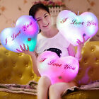 LED 7 Colors Changing Bright Light Up Glowing Pillow Romantic Cushions Gifts New