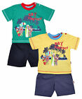 Boys Baby Toddler Say Cheese Surf Bears T-Shirt & Shorts Set 6 to 23 Months
