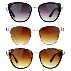 SA106 Womens Double Frame Oversize Cat Eye Sunglasses