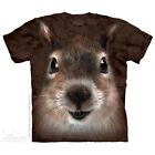 The Mountain Squirrel Face Adult Men T-Shirt S-2XL Short Sleeve