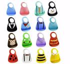 Make My Day Soft Silicone Crum Catcher Cute Baby Bibs BPA Free Dishwasher Safe