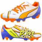 Puma EvoPOWER 4.2 Pop Football Boots FG Comic Style  Shoes New