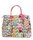 "21"" Quilted Cotton Shoulder Tote Bag Beach Carry On Overnight Gym Diaper Purse"