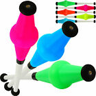 Set Of 3 Fluorescent UV Jac Radical Fish Juggling Clubs Professional Juggling