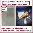 QUALITY CELLOPHANE BAGS FOR GREETING CARDS & SWEET CONES  MASSIVE 50% OFF SALE