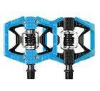 Crank Brothers Double Shot 2 Clipless & Platform Bike Pedals Black Orange Blue