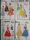 Butterick Sewing pattern Retro / Vintage inspired 4 designs to choose from 1950s