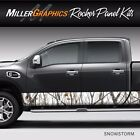 Camo Snowstorm Rocker Panel Graphic Decal Wrap Kit Truck Large 12 x 24 feet
