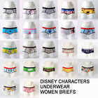 Disney Underpants Women Briefs Panties Cotton Cute Disney Underwear US Size XS-M