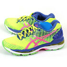 Asics Gel-Nimbus 18 Flash Yellow/Pink Glow/Asics Blue Expert Running T650N-0735