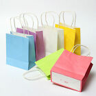 5 PCS Luxury Party Bags Kraft Paper Gift Bag With Handles Recyclable Loot Bag