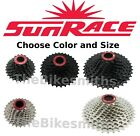 Sunrace CSRX 11 Speed Cassette 11-28/ 32/ 36 Black/Silver Bike fit Sram Shimano