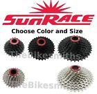 Внешний вид - Sunrace CSRX 11 Speed Cassette 11-28/ 32/ 36 Black/Silver Bike fit Sram Shimano