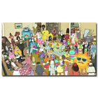 Rick and Morty Cartoon Silk Poster Print 13x24 20x36inch 007 $10.39 USD