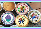 12/24 PRE-CUT STAND UP 21th BIRTHDAY BOY DESIGN EDIBLE WAFER PAPER CAKE TOPPER