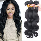 3 Bundles Brazilian Virgin Human Hair Weft Extension Body Wave 150g UK Seller