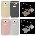 Slim Metal Aluminum Mirror PC Back+Bumper Frame Case Cover For Samsung Galaxy