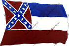 Mississippi Flag State Vinyl Decal Sticker Confederate Auto Truck Bumper Window