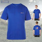 Berghaus Men's Blocks 3 Cotton T-Shirt - Blue - Authorised Dealer